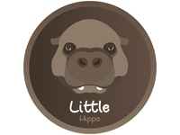 Little hippo icon