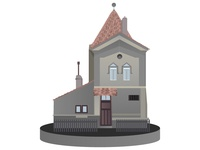 Medieval transilvanian house