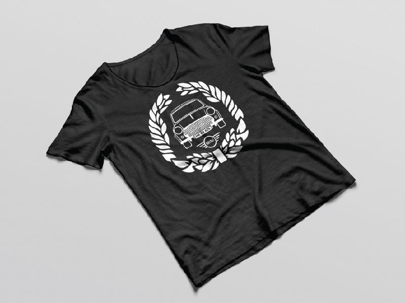 Mini Cooper Logo And T Shirt Design For Fun By Kubanek Design