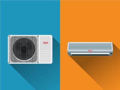 Air condition system ventilation heat condition cold fan compressor cooling conditioner unit system conditioning air
