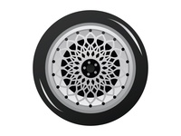Car wheel design