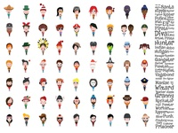 Large Set Of Characters