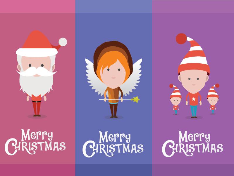 Santa Angel Elf elf angel santa
