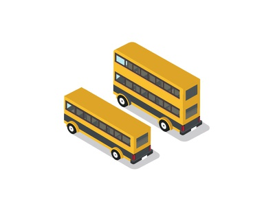 Yellow Bus  and double decker transport safety route trip outside stop sunset education bus school transportation yellow