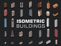 Isometric 3d Buildings