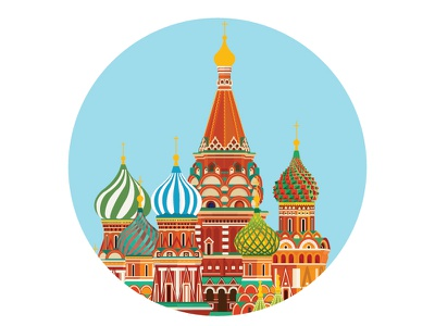 St. Basil S Cathedral Moscow Russia dome russian square symbol travel russia red famous kremlin monument orthodox moscow