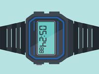 Classic 80's watch