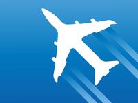 Air plane icon vector