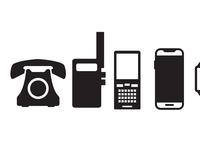 Evolution of telephones