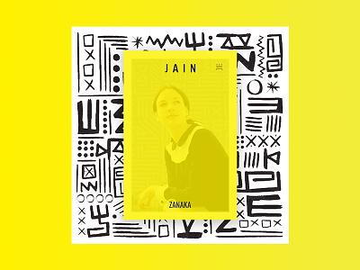 Jain - Zanaka album art cover zanaka album cover design cover jain