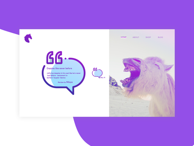Testimonial Section. typography illustration ui ui  ux design gradient color userinterfacedesign testimonial