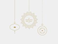Holiday graphics for Serenity Spa   Soul Yoga