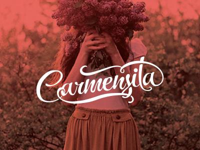 Carmensita graphic design branding illustrator fashion work brand logo