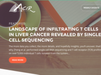 Accelerating Cancer Immunotherapy Research Website