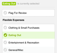 Xero Personal (select categories)