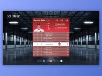MLB Lineup UI