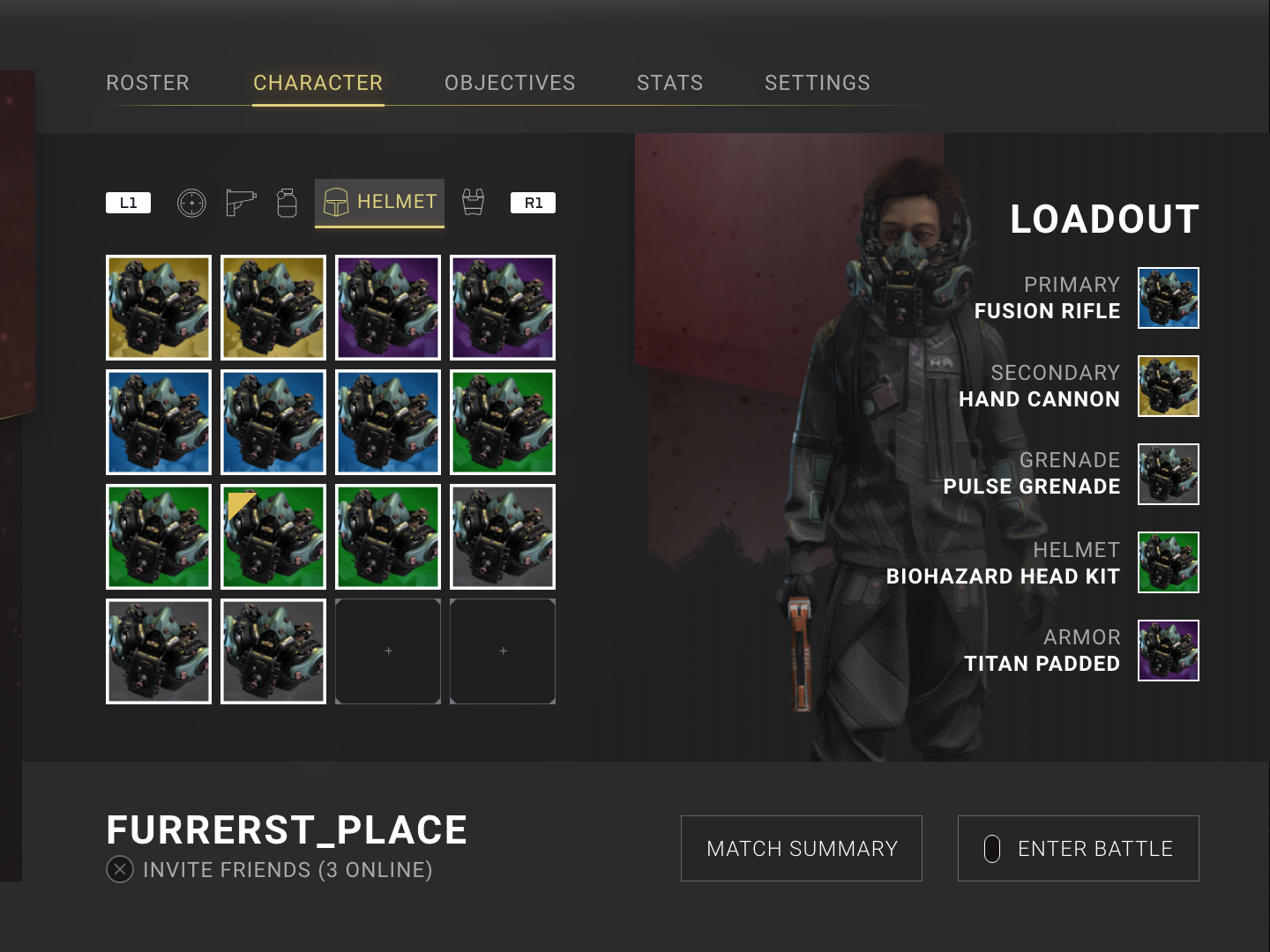 Inventory Menu - Survival Sci Fi Game by Jeff Furrer on Dribbble