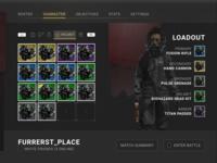 Inventory Menu - Survival Sci Fi Game