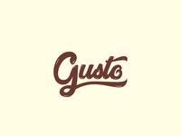 Gusto | Logo design