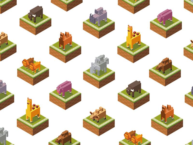Small animals iiiustrator