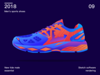 Trend sports shoes
