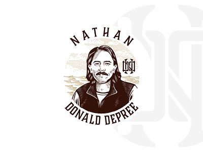 Nathan Don Depree Personal Logo logo