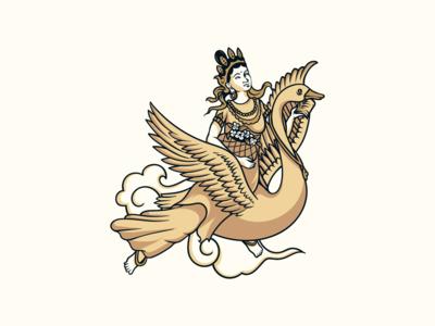 sky goer illustrative logo