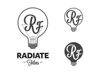 Radiate Films Logo Concepts