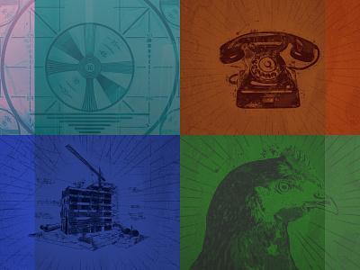 PixelWatt Rebrand Artwork rock rebrand website