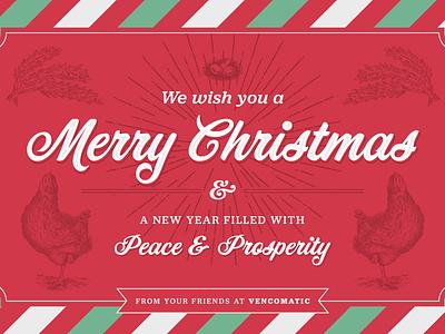 Christmas Eblast Artwork design typography