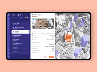 Proprietary Zoning Platform / Gridics cieden apps mobile web real estate design ui ux