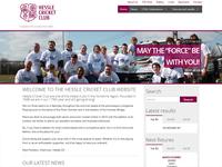 Hessle Cricket Club Website