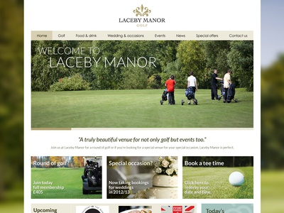 Laceby Manor Website