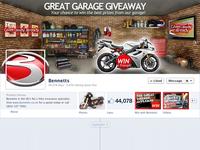 Facebook cover photo garage