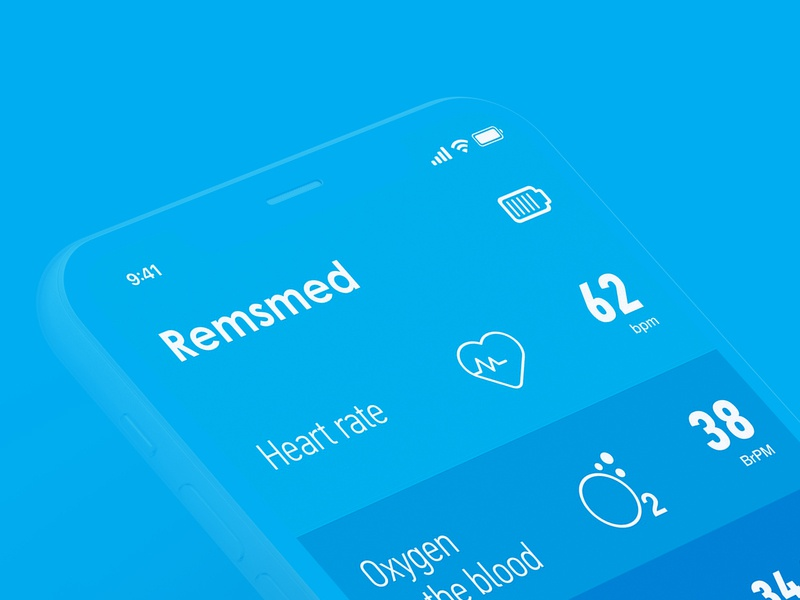 Design iOs App for Remsmed & Smart Patch