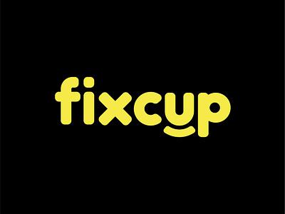 Fixcup Cafe Logo cafe logo лого логотип logo logotype logotype design logo design
