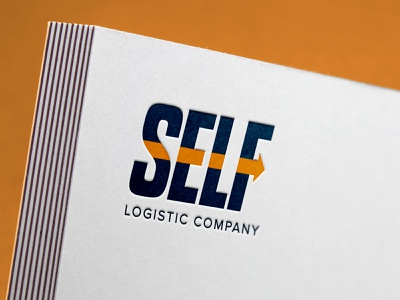 Self Logo arrow logo logistics logo лого логотип logotype logo logotype design logo design