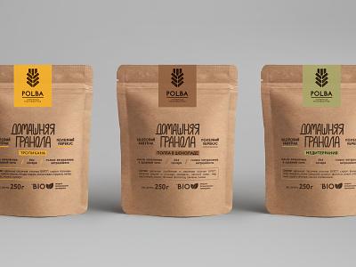Polba Granola Packaging food packaging foodpackaging packaging design package design packagedesign packagingdesign package packaging