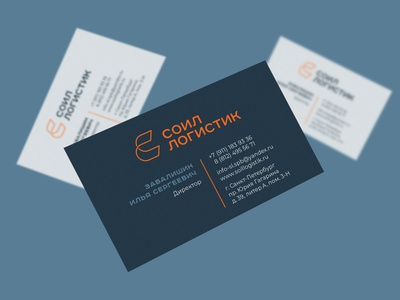 Soil Logistic Identity business card design business card businesscard cyrillic logotype cyrillic logo кириллица cyrillic лого логотип logo logotype logotype design logo design