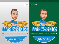 Caricature Logo Design for A Company