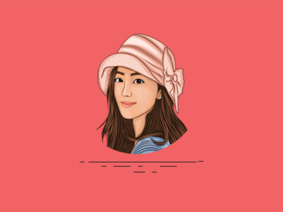 Vector Art - Vector Portrait - Cartoon Illustration