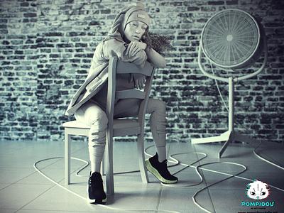 3d realistic model girl visualization ornatrix marvelous designer vray zbrush modeling realistic 3d