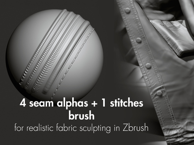 Free brushes for Zbrush give away clothes realistic sculpting zbrush brushes