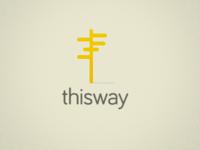 thisway Logo Design