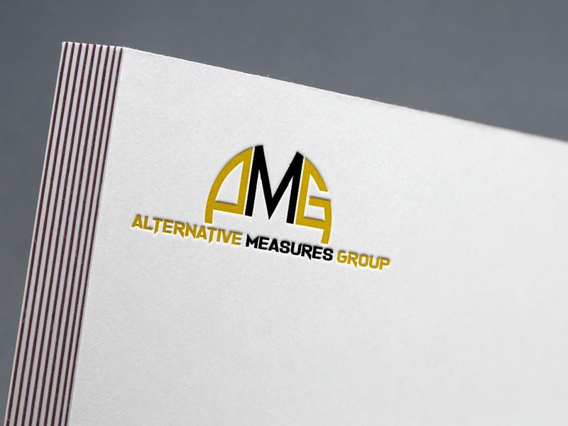 AMG logo branding