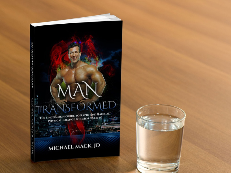 Man Transformed Book Cover