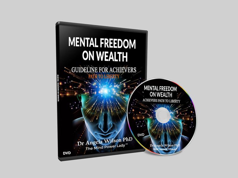 Mental Freedom On Wealth book   DVD design