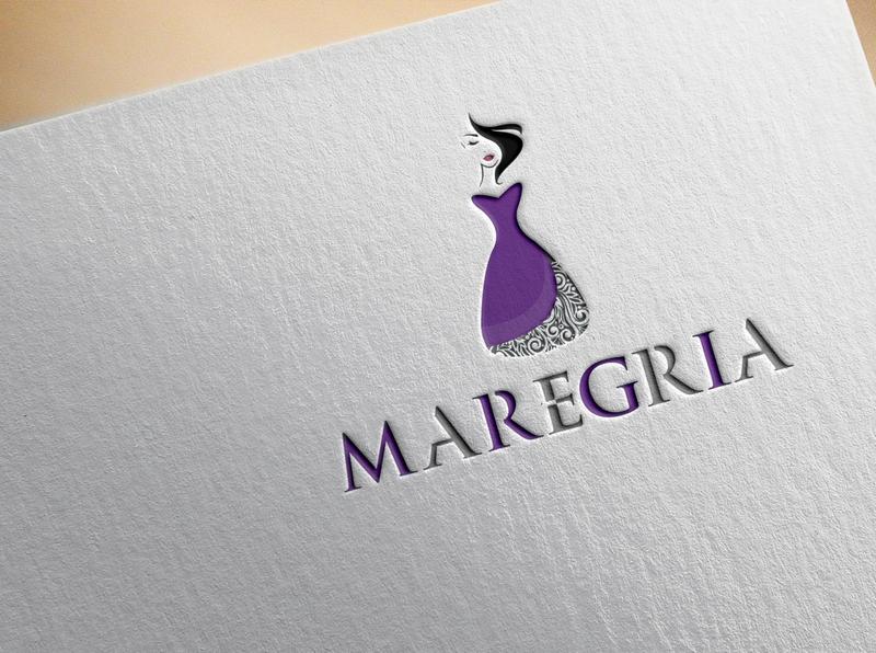 Maregrla logo design