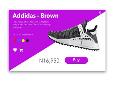 Addidas Shoe Product