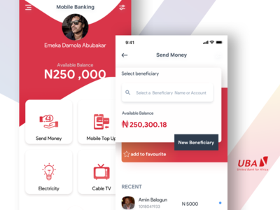 UBA Mobile App Redesign